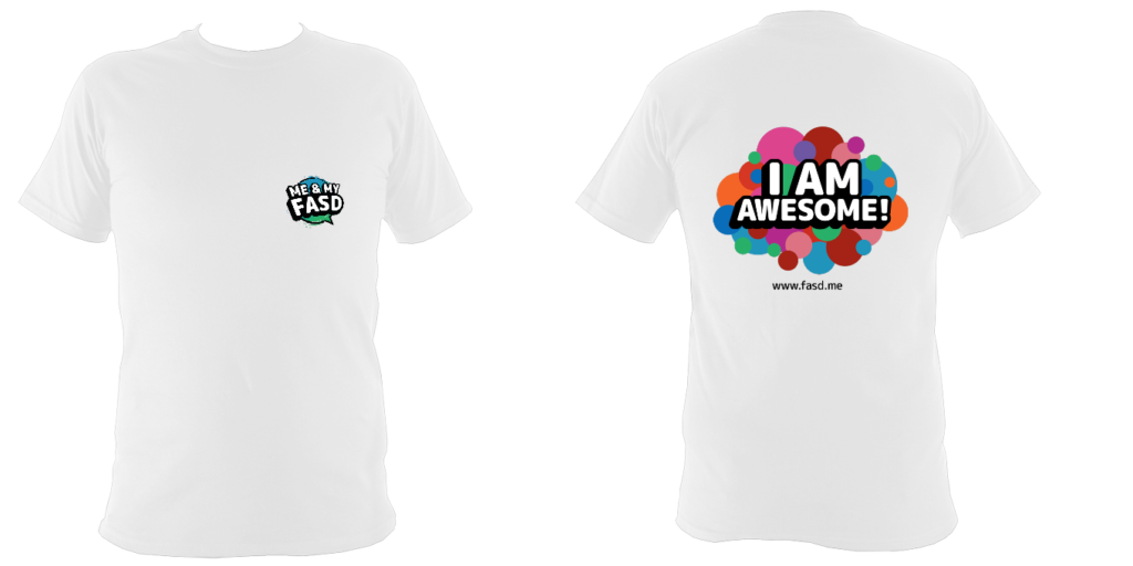 I am awesome (bubbles): Children's Tshirt