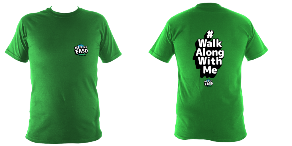 Walk Along With Me (Hashtag) Childrens Tshirt