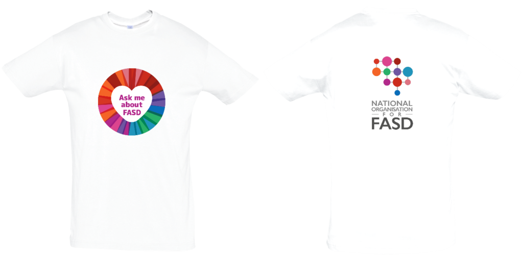 Ask me about FASD Adults Tshirt
