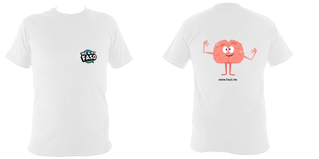 Brain Character: Childrens Tshirt
