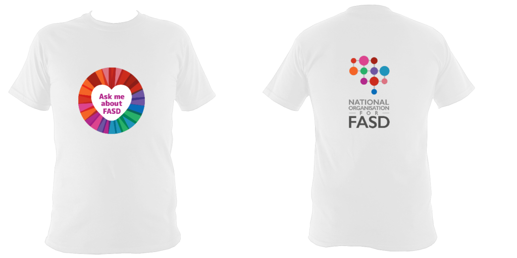 Ask me about FASD Childrens Tshirt