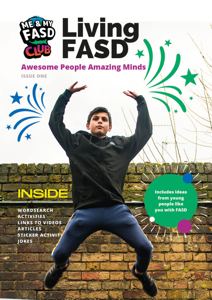 Living with FASD magazine issue one thumbnail
