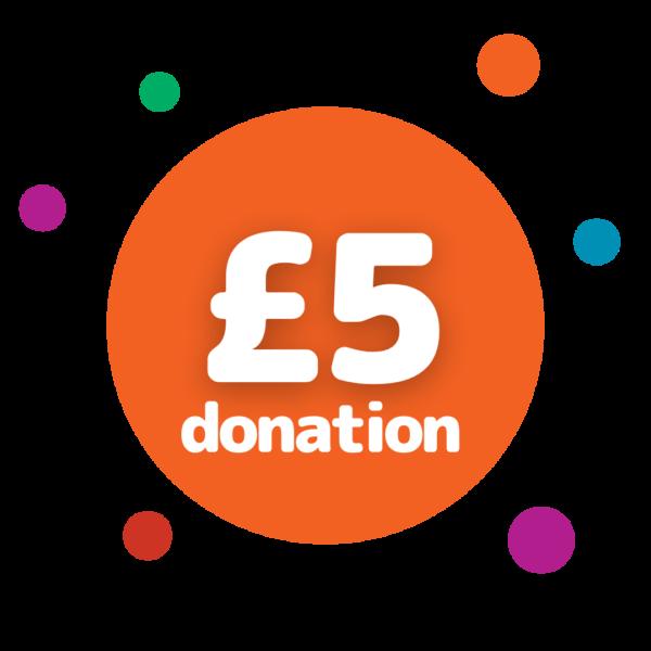 £5 donation