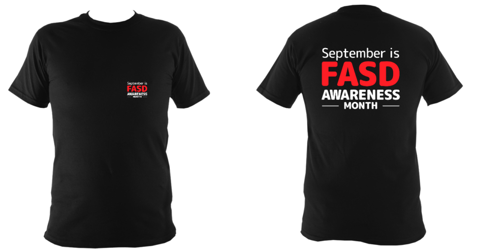 FASD Awareness Month – Children's (DARK COLOURS)