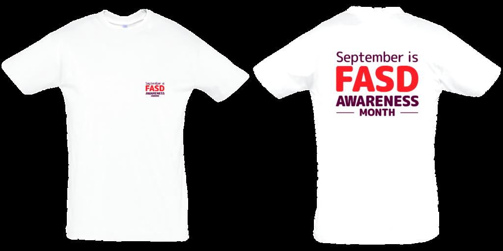 FASD Awareness Month – Men's (LIGHT COLOURS)
