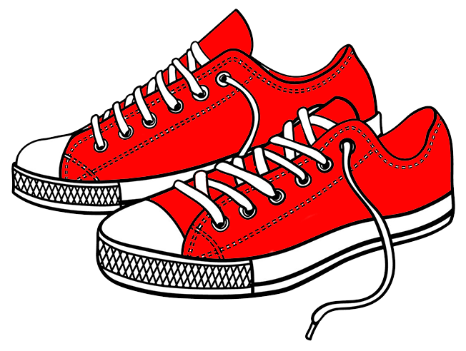 Red shoes - FASD awareness month